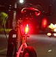 Стоп сигнал на велосипед USB фара задняя мигалка, велофонарь, велофара, фото 7