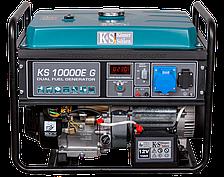 Газ-бензиновый генератор газ-бензиновый Könner&Söhnen KS 10000E G (8 кВт)