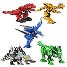 """Робот трансформер """"Dragon force"""" (Желтый) трансформируется в динозавра    , фото 4"""