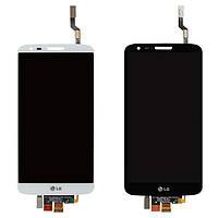 Дисплей для LG G2 D800, D801, D803, 34 pin, модуль в сборе (экран и сенсор), оригинал