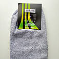 Носки мужские теплые зимние махровые серые спорт размер 40-44, фото 3