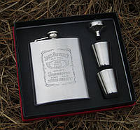 Набор для виски с флягой Jack Daniel's