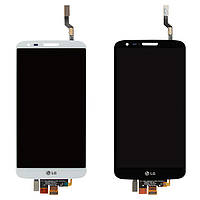 Дисплей для LG G2 LS980, VS980, 34 pin, модуль в сборе (экран и сенсор), оригинал