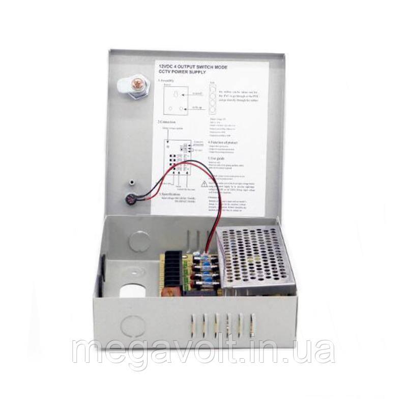 Блок питания (в металлическом боксе) 60W 12V (IP20,5A,4CH)