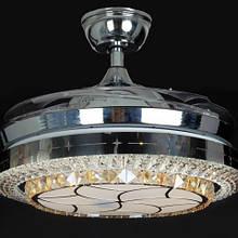 Люстра-вентилятор потолочный IMPERIA светодиодный c выдвижными лопостями LUX-555062