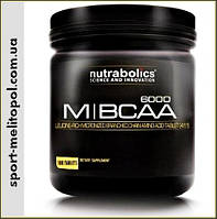 Nutrabolics M-BCAA 6000 180 таб.