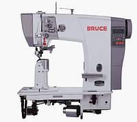 Bruce BRC-6692-1 двухигольная колонкова машина з автоматичним обрізанням нитки і закрепкой