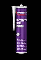 Клей монтажный для пенополистирола MOUNTER Decoration Glue Interior only 280ml.