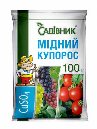"""Медный купорос """"Садівник"""", 100 г, фото 2"""