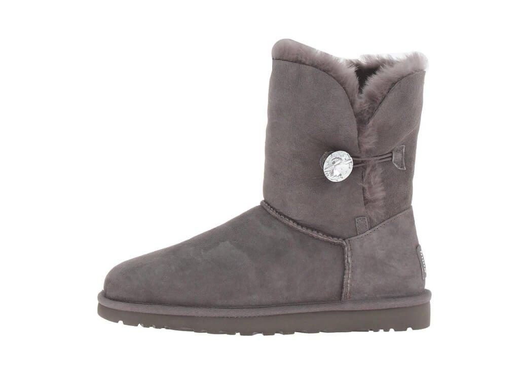 "UGG BAILEY BUTTON BLING BOOT ""GREY"" Арт. 0571"