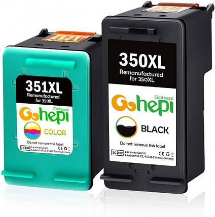Картридж - Gohepi 350XL/351XL P 350XL 351XL, фото 2