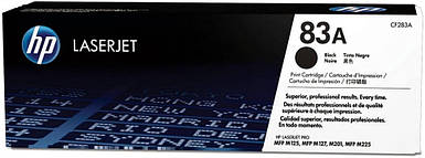 Картридж - HP 83A CF283A LaserJet Pro MFP 125nw