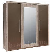Шкаф с зеркалами ДЖУЛЬЕТТА 4D