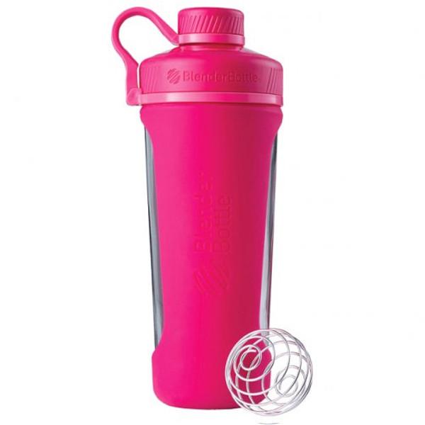 Спортивная бутылка-шейкер BlenderBottle Radian Glass Pink (скло ) 820мл (ORIGINAL)