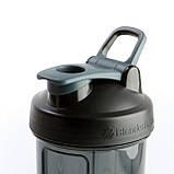 Спортивная бутылка-шейкер BlenderBottle Pro28 Tritan 820ml Black (ORIGINAL), фото 3