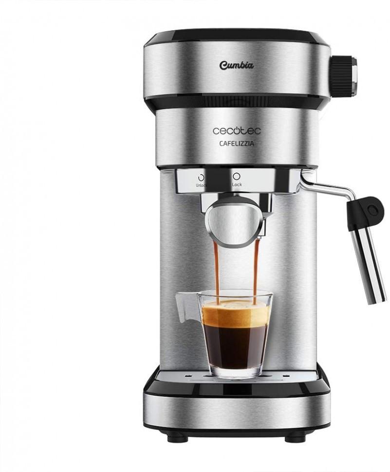 Кофемашина рожковая Cecotec Cafetera Express Cafelizzia 790 Steel para