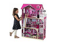 Кукольный домик деревянный Villa Barcelona Ляльковий будиночок для барби, фото 1