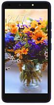 """Смартфон Tecno POP 2F 5,5"""" 1/16Gb с разблокировкой по лицу и сканером отпечатков пальцев синий"""