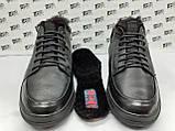 Комфортні зимові черевики під кросівки на цигейке Detta, фото 7