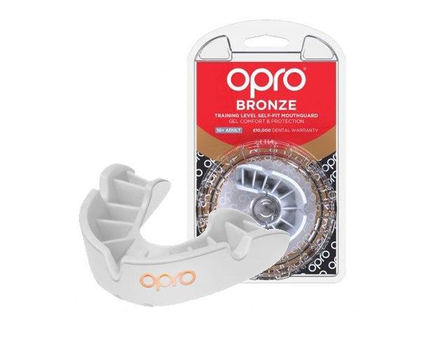Капа OPRO Bronze While (art_002219004)