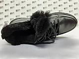 Комфортні зимові черевики під кросівки на цигейке Detta, фото 4