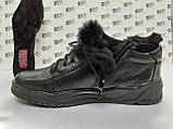 Комфортні зимові черевики під кросівки на цигейке Detta, фото 2
