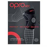 Наколенник спортивный OPROtec Knee Support with Open Patella TEC5729-LG Черный L, фото 10