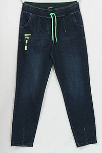 Турецкие женские джинсы на резинке больших размеров 50-56