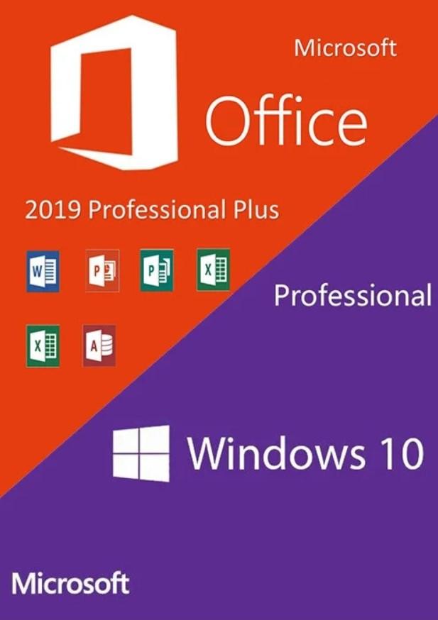 Windows 10 Pro + Office 2019 Pro Plus лицензионный ключ