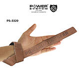 Кожаные лямки Power System Leather Straps PS-3320, фото 4