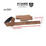 Кожаные лямки Power System Leather Straps PS-3320, фото 5