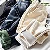 Штаны вельвет на флисе, три цвета, фото 4