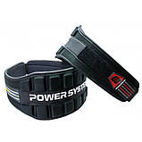 Пояс неопреновый для тяжелой атлетики Power System Neo Power PS-3230 Black/Red M, фото 2