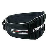 Пояс неопреновый для тяжелой атлетики Power System Neo Power PS-3230 Black/Red M, фото 3