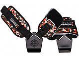Крюки для тяги на запястья Power System Hooks Camo PS-3370 Black/Red L, фото 2