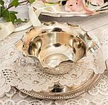 Посеребренная вазочка с ажурным краем, серебрение, E.P.N.S., Англия, J. POTTER, фото 2