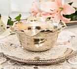 Посеребренная вазочка с ажурным краем, серебрение, E.P.N.S., Англия, J. POTTER, фото 3