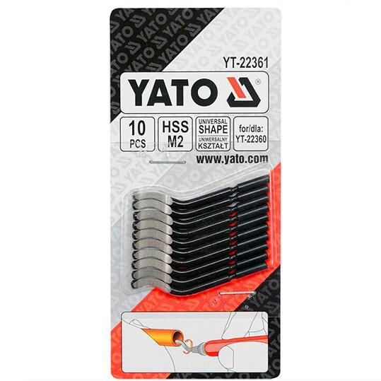 Лезвия для карандаша-фаскоснимателя YATO YT-22361