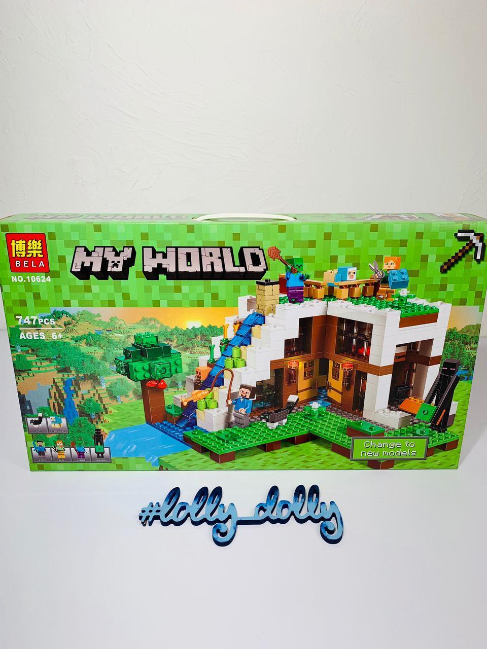 Конструктор Майнкрафт База на водоспаді 10624 Minecraft