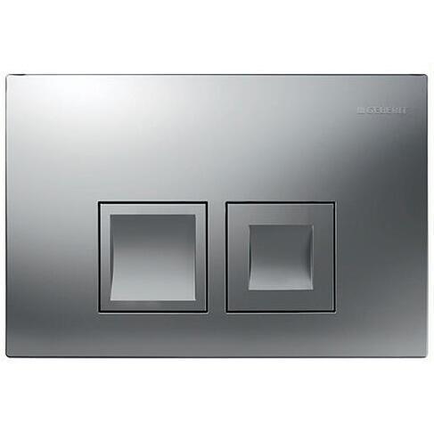 Кнопка для смыва Geberit Delta 50 (хром матовая) 115.135.46.1