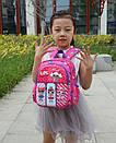 Детский рюкзак кукла LOL дошкольный для девочки в садик 3-5 лет, фото 3
