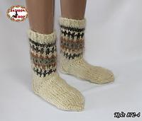 Настоящие шерстяные носки ручной работы Чача