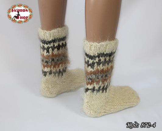 Настоящие шерстяные носки ручной работы Чача, фото 2