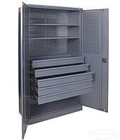 Шкаф инструментальный ШИ-10/2П/5В (ВхШхГ - 1970х1000х500), фото 1
