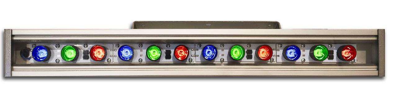 Линейный светильник 36W  530мм IP67 Wall washer RGB