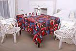 Скатертина Новорічна 120-150 «Merry Christmas», фото 4