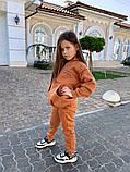 Детский теплый костюм батник и штаны трехнить размер: 122, 128, 134, 140, фото 4