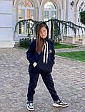 Детский теплый костюм батник и штаны трехнить размер: 122, 128, 134, 140, фото 5