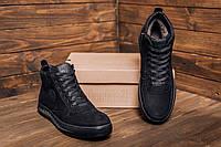 Зимние ботинки Timberlan Black мужские зимние ботинки Зимние мужские кроссовки