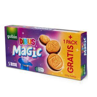 Печиво GULLON DIBUS Magic, 220г, 10шт/ящ
